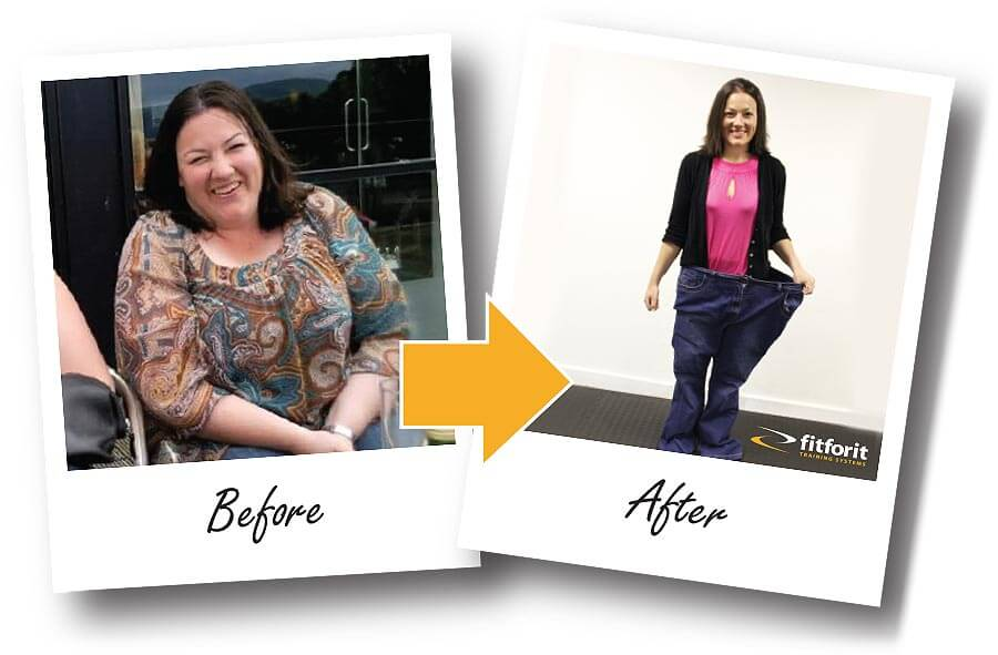 Fitforit Personal Training Before & After: Alison