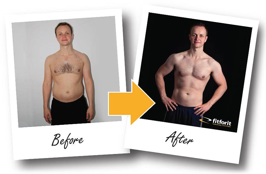 Fitforit Personal Training Before & After: Chris