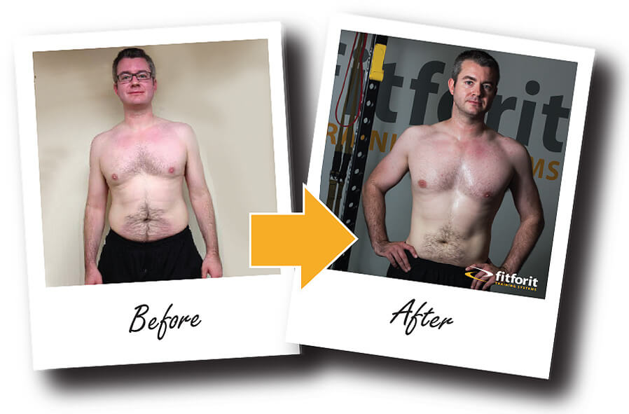 Glasgow Personal Training before and after