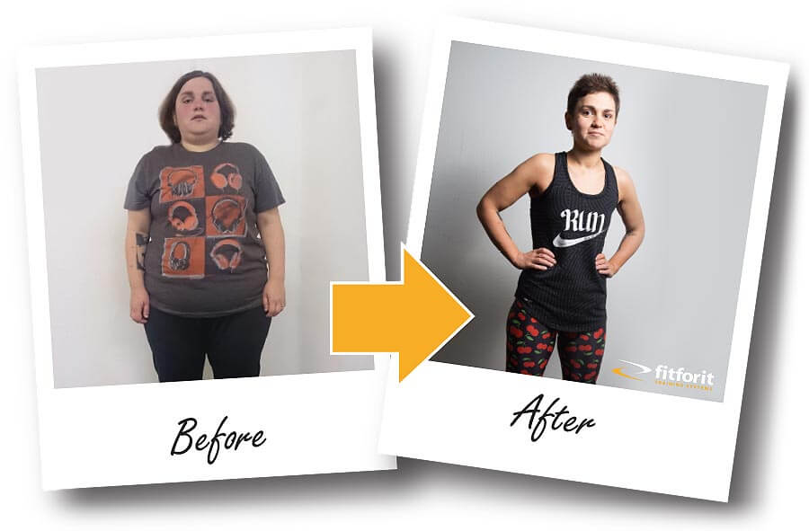 Fitforit Personal Training Before & After: Jenny