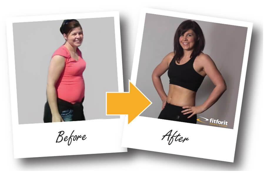 Fitforit before and after Karen