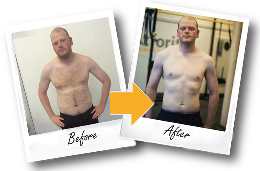 Fitforit Before and after Stuart B